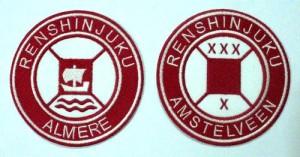 Renshinjuku uniform badges